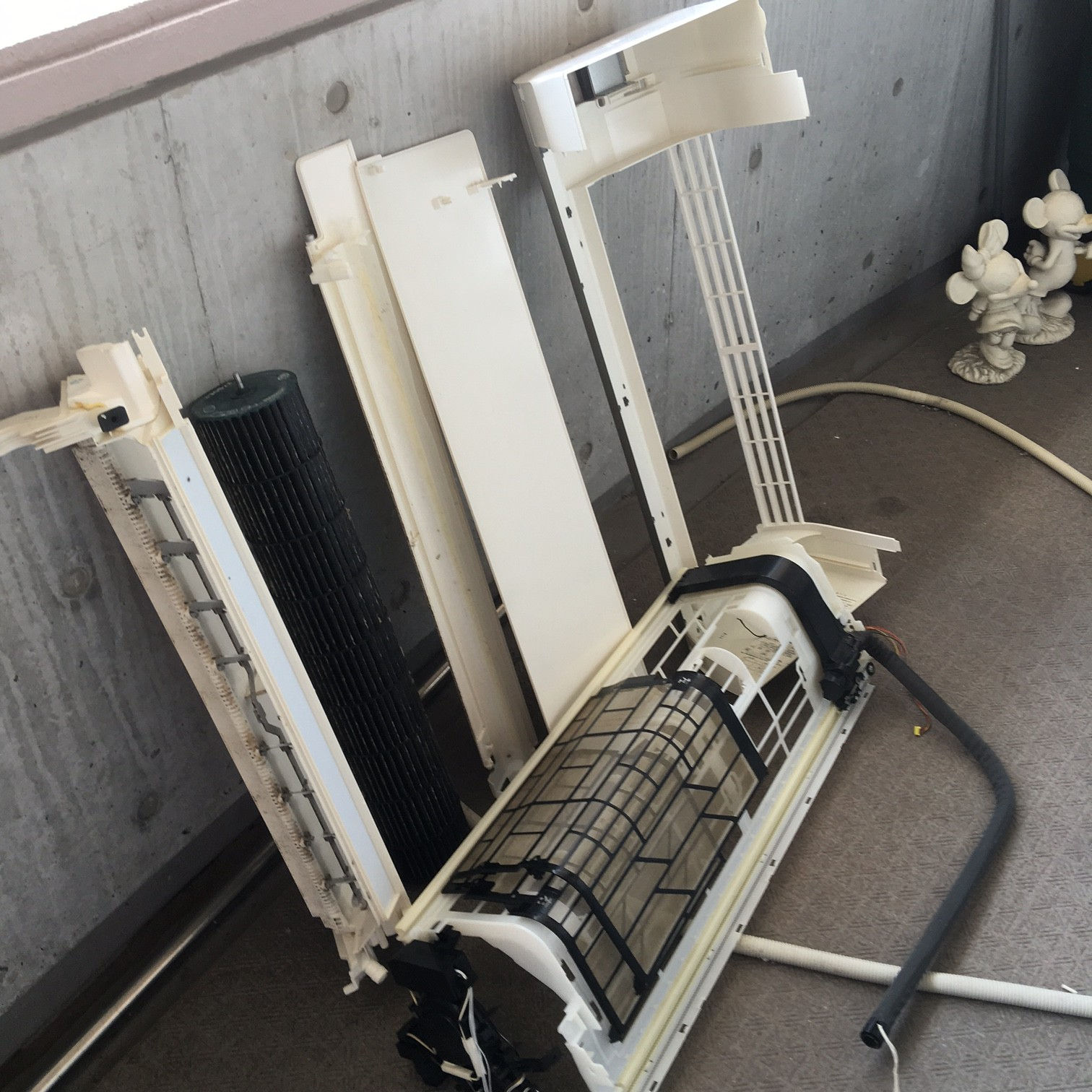 エアコン洗浄 施工実績